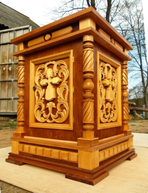 Купить деревянный жертвенник в Беларуси